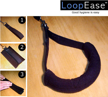 LoopEase Pilates footloop covers