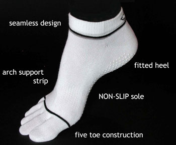ToeSox pilates socks