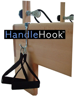 pilates handle hook accessories